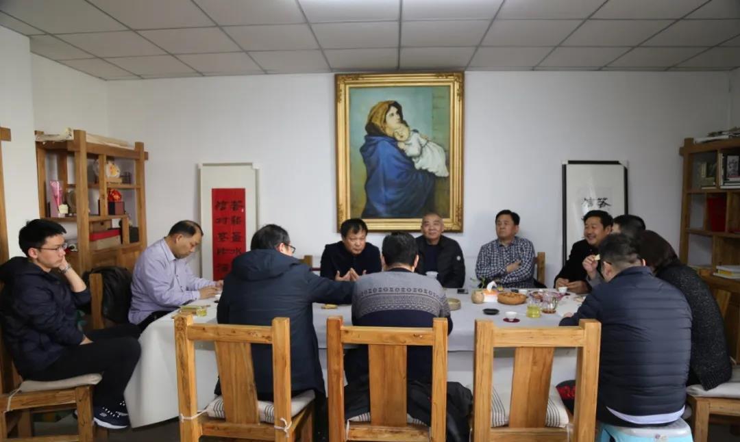 山东省基督教两会举行迎新年主题茶话座谈会